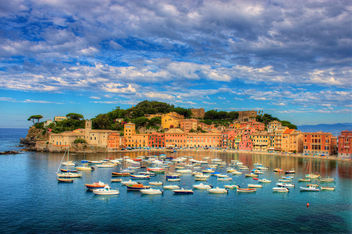 Sestri Levante and Baia del Silenzio, the Bay of Silence - бесплатный image #284599