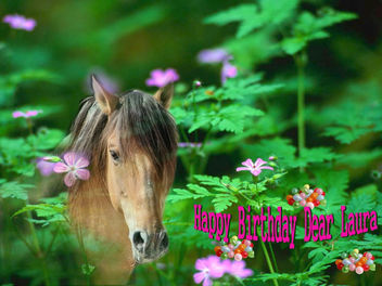 Happy Birthday Dear Laura - image #285509 gratis