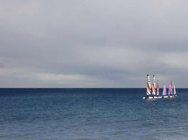 Sailing Boats On The Horizon - бесплатный image #286929