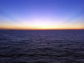 Sunset Across The English Channel - Kostenloses image #286979