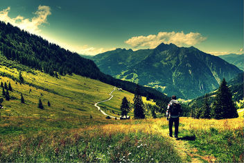 Austrian Mountains - Free image #287569