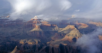 Grand Canyon National Park: Powell Point Sunset Feb.10, 2013 1516 - бесплатный image #287679