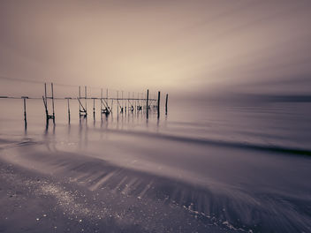 winter sea in Jesolo - image #290569 gratis