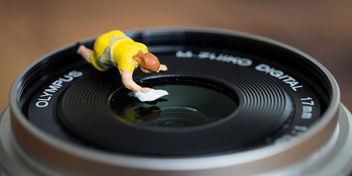 Lens Cleaning - Free image #290579