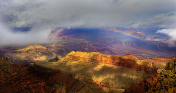 Rainbow in Grand Canyon - image gratuit #291079