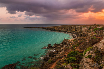 Sunrise at Favignana Island, Sicily (Italy) - бесплатный image #291109