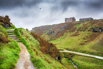 Tintagel Castle, Cornwall, United Kingdom - Kostenloses image #291899