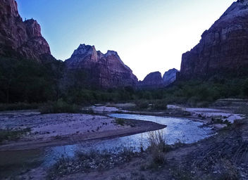 Zion, First Light North of Patriarchs 4-30-14a - Kostenloses image #291949