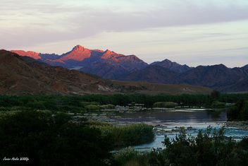 Orange river in Richtersveld Transfrontier Park (Namibia-South Africa) - Free image #293169
