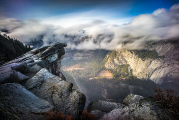 Glacier point, Yosemite national park, California - Kostenloses image #294779