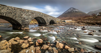 Sligachan bridge, Isle of Skye, Scotland, United Kingdom - Free image #296889