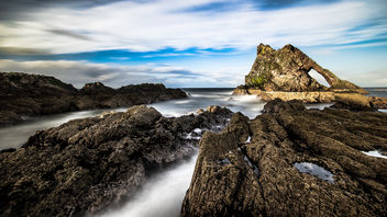 Bow fiddle, Portknockie, Scotland, United Kingdom - Free image #296899