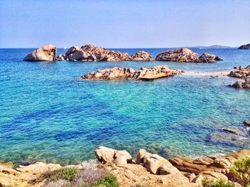 sea at Sardegna, Sardinia, Baja Sardinia, - бесплатный image #297479