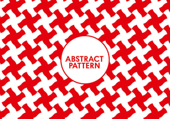 Seamless Abstract Red Pattern - бесплатный vector #297629