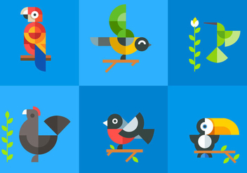 Birdnature Vectors - Free vector #297659