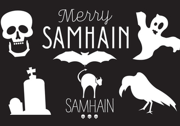 Samhain Vector Illustrations - Kostenloses vector #297779