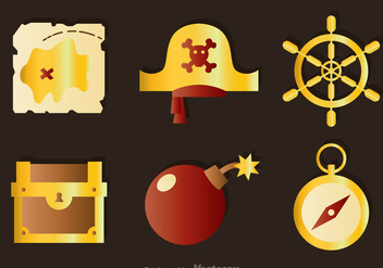 Treasure Colors Icons - vector #297999 gratis