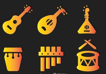 Traditional Musical Instrument - vector gratuit #298019
