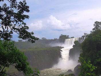 View of Iguazu Falls from Brazilian Side - бесплатный image #300159