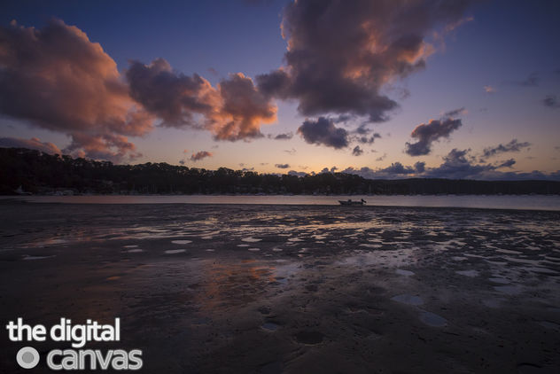 pittwater boat sunset - Free image #301079
