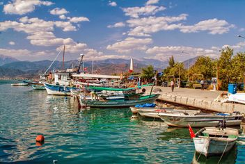 Fethie harbor, Turkey - бесплатный image #301449