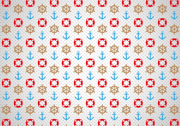 Free Nautica Pattern Vector - Free vector #301529