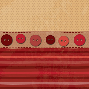 Fabric Texture with Buttons - vector gratuit #301549