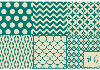 Free Mid Century Pattern #6 - Free vector #301759