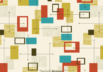Free Retro Abstract Seamless Pattern - Kostenloses vector #302119