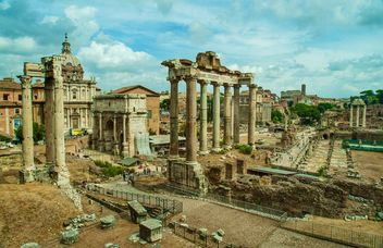the Triumphal Arch of Roman Forum - бесплатный image #302359