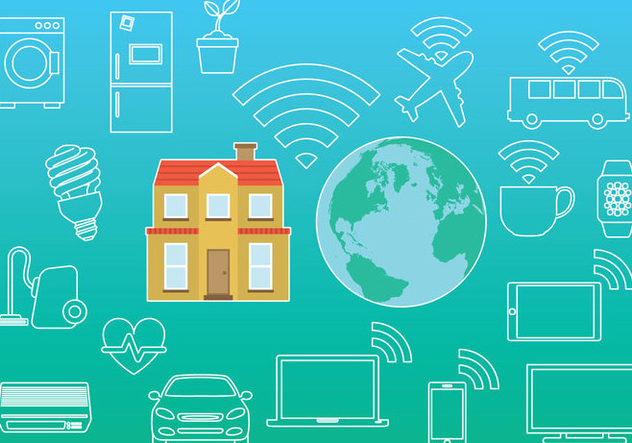 Internet Of Things - Free vector #302439