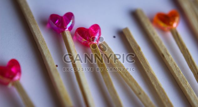 Orange And Pink Lollipops - image gratuit #302809