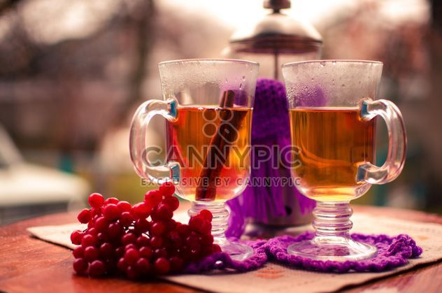 warm tea with cinnamon - Free image #302929