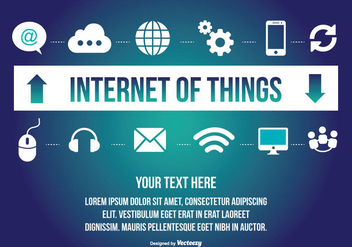 Internet of Things Illustration - Kostenloses vector #303059