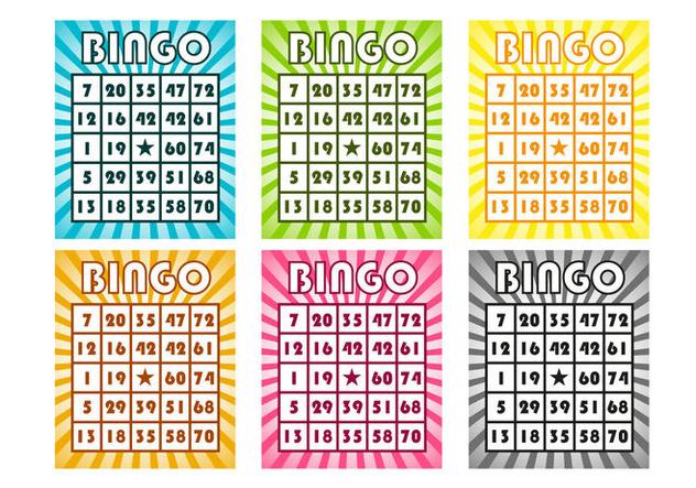 Top Téléchargement Du Vecteur Gratuit : Vecteur De Cartes De Bingo  TY07