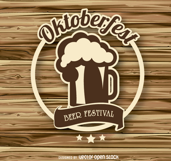 Oktoberfest logo badge - Free vector #303169