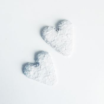 White heart coockies - image gratuit #303249