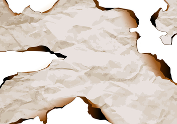 Burnt paper edge vector 3 - бесплатный vector #303509