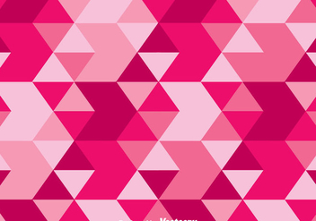 Triangle Pink Camo Vector - Free vector #303669