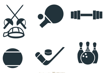 Sport Items Vectors - vector gratuit #304369