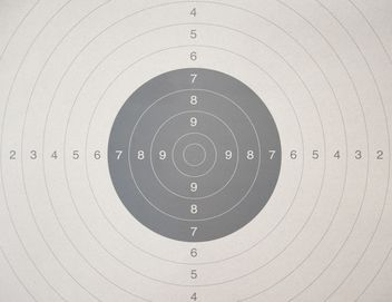 Police shooting target - image gratuit #304589