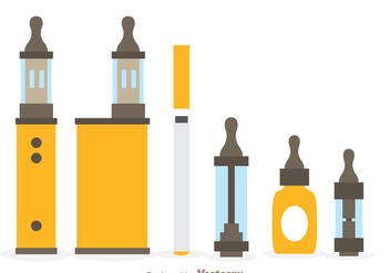 Vape Icons - Free vector #304989