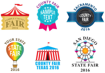 County Fair Logos - Free vector #305029