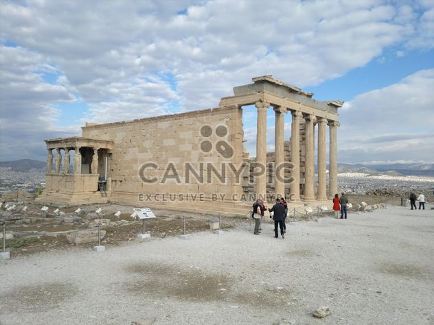 Tourists visiting Acropolis in Athens - image #305709 gratis