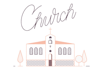 Free Church Vector - vector #305879 gratis
