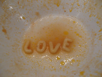 Alphabet Soup Love - Free image #307959
