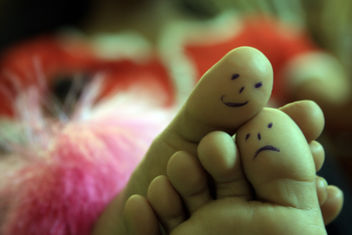 Toe Art...Love & Care - image #308619 gratis