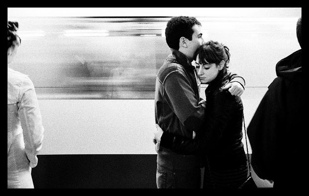 Love is in the subway - Free image #308799