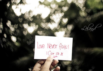 Love Never Fails - Free image #309019