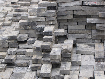 Gray Granite Bricks - Free image #310029